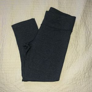 90 Degree Charcoal Cropped Leggings (s)